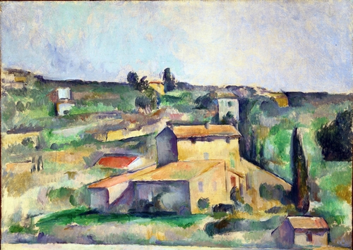 Cezanne - Fields at Bellevue