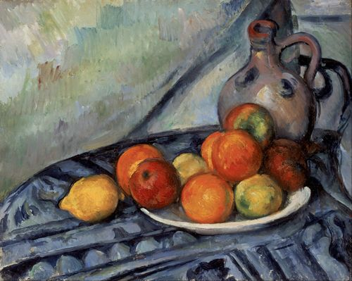 Cezanne - Fruit and a Jug on a Table