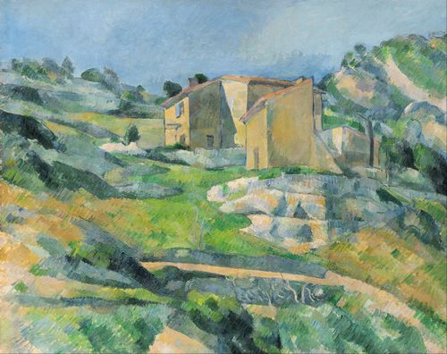Cezanne - Houses in Provence