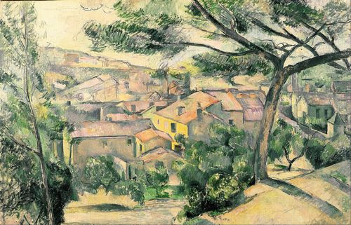 Cezanne - LEstaque Against the Sunlight
