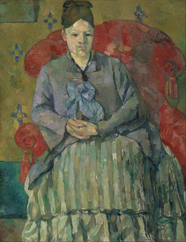 Cezanne - Madame Cezanne in a Red Armchair