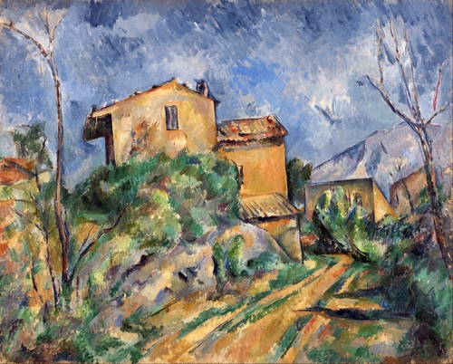 Cezanne - Maison Maria with a View of Chateau Noir