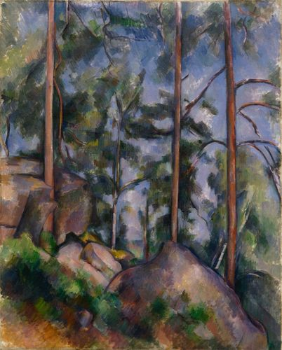 Cezanne - Pines and Rocks