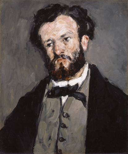 Cezanne - Portrait of Anthony Valabregue