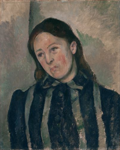 Cezanne - Portrait of Madame Cezanne