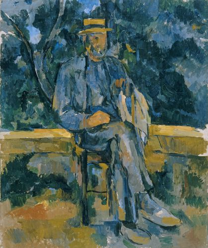 Cezanne - Portrait of Peasant