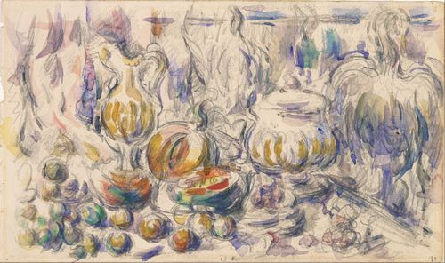 Cezanne - Pot and Soup Tureen