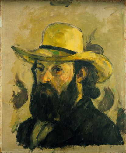 Cezanne - Self-Portrait in a Straw Hat