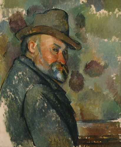 Cezanne - Self-Portrait with a Hat