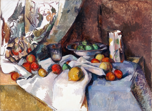 Cezanne - Still Life with Apples