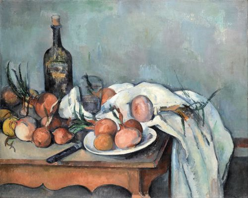 Cezanne - Still Life with Onions