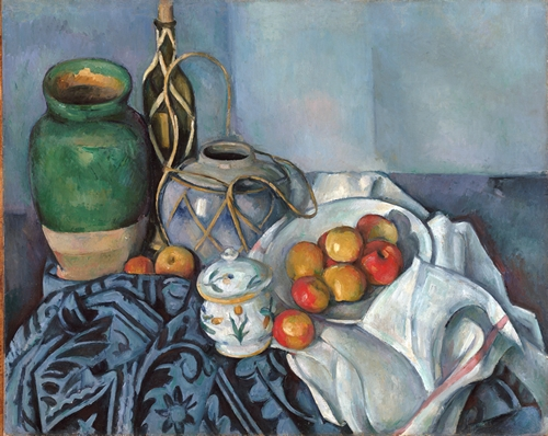 Cezanne - Still life with apples 2