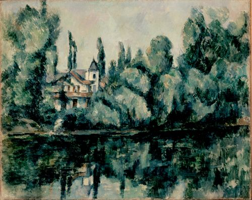 Cezanne - The Banks of the Marne