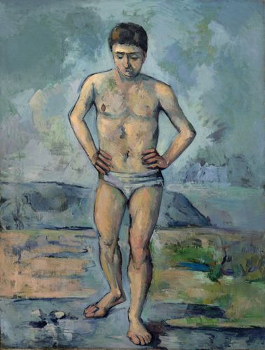 Cezanne - The Bather