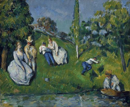 Cezanne - The Pond