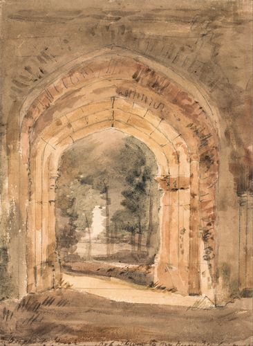 Constable - East Bergholt Church 2