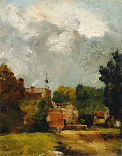 Constable - East Bergholt Church