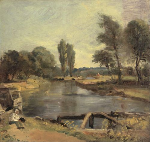 Constable - Flatford Lock