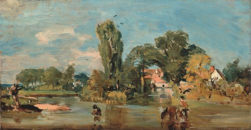 Constable - Flatford Mill 2