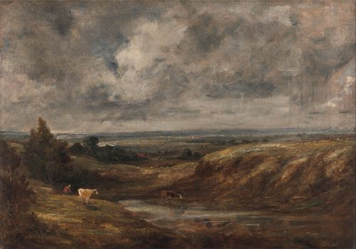Constable - Hampstead Heath