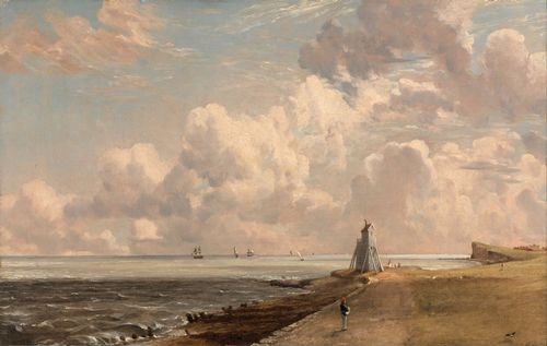 Constable - The Low Lighthouse and Beacon Hill
