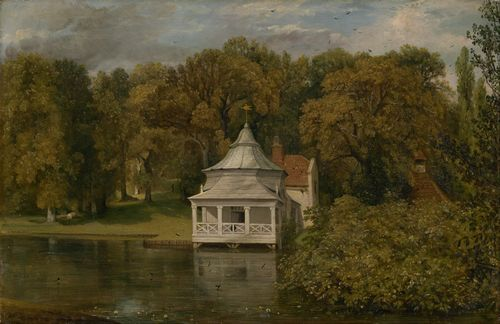 Constable - The quarters behind Arlesford Hall