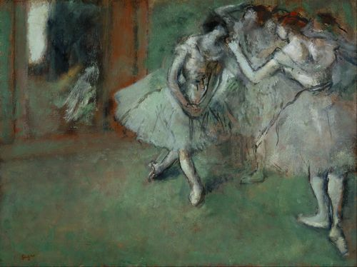 Degas - A group of dancers