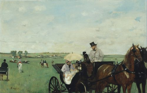 Degas - At the Races in the Countryside