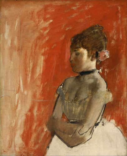 Degas - Ballet Dancer with Arms Crossed