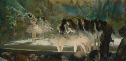 Degas - Ballet at the Paris opera