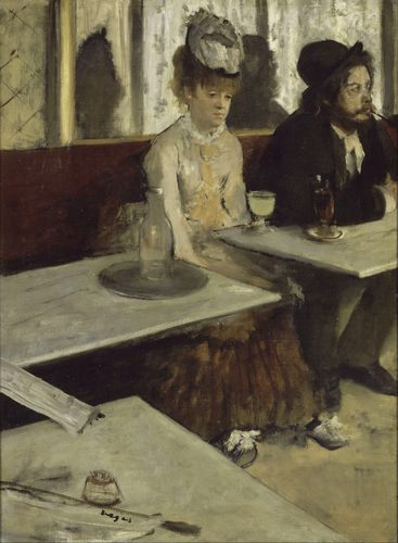 Degas - In a cafe