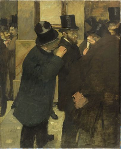 Degas - Portraits at the Stock Exchange