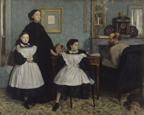Degas - The Bellelli Family