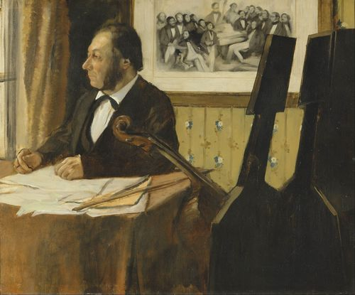 Degas - The Cellist Pilet