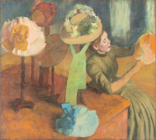 Degas - The Millinery Shop