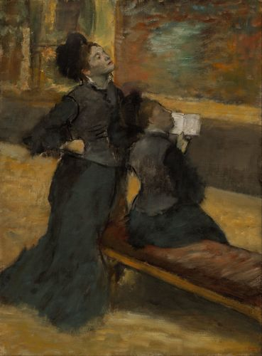 Degas - Visit to a Museum