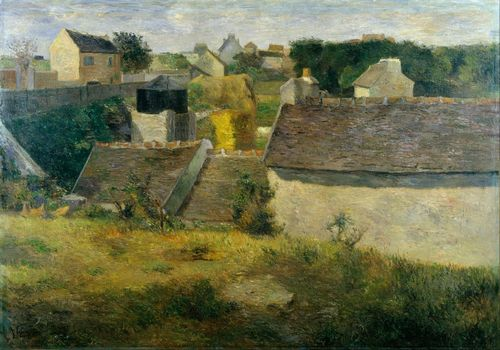 Gauguin - Houses at Vaugirard