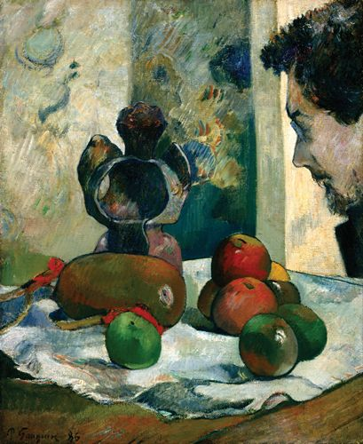 Gauguin - Still Life with Profile of Laval