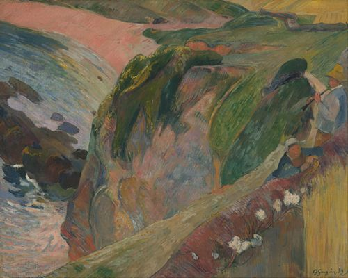 Gauguin - The Flageolet Player on the Cliff