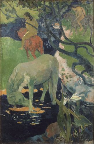 Gauguin - The White Horse