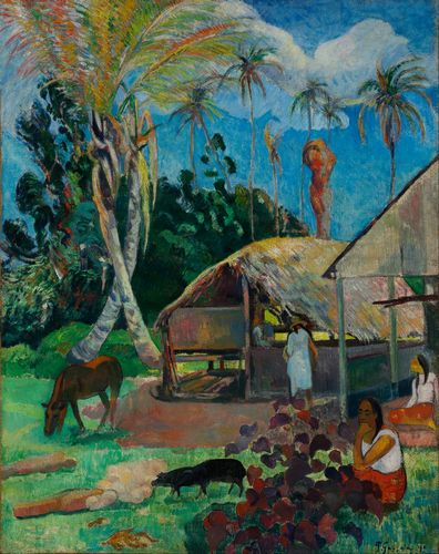 Gauguin - The black pigs