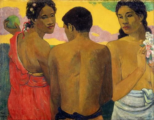 Gauguin - Three Tahitians