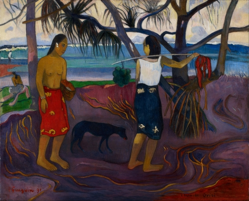 Gauguin - Under the Pandanus II