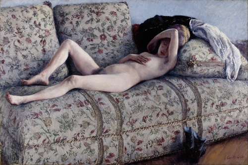 Gustave Caillebotte - Nude on a Couch