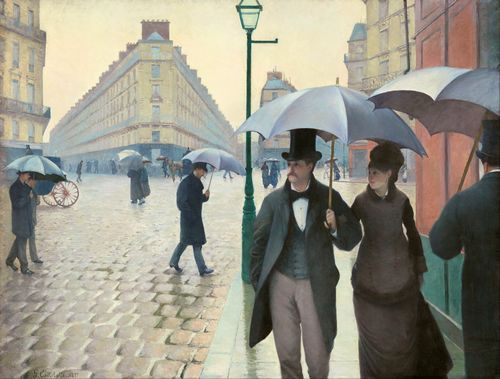 Gustave Caillebotte - Paris Street on a Rainy Day