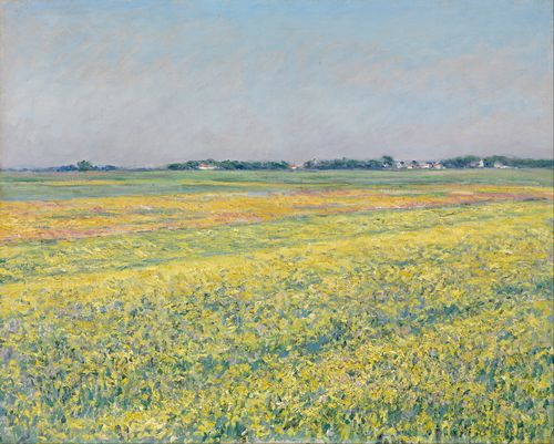 Gustave Caillebotte - The plain of Gennevilliers