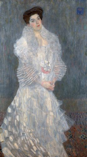 Klimt - Portrait of Hermine Gallia