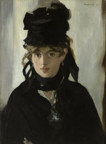 Manet - Berthe Morisot with a bouquet of Violets