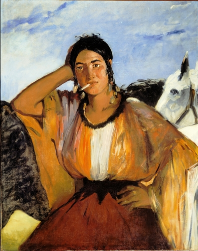 Manet - Gypsy with a cigarette