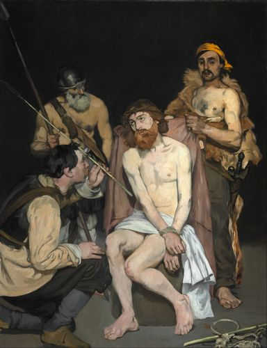 Manet - Jesus Mocked by the Soldiers